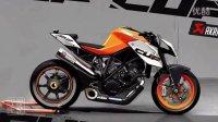 野兽的诞生:KTM 1290 Super Duke R摩托车