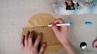 吴小姐的店  手工拼布模版布艺diy画压线的方法方格压线模版
