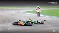 摩托GP:2014 印第安纳波利斯站 最大的摔车