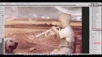 [PS][魔骑座]PS教程 photoshop打造童年的乐趣 合成海报设计