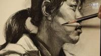 「CAAME」国君美术半身素描女教学视频_杭州素描名师_李宪奇