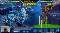 游戏拼装 钩机 变形金刚 机器人 对战 恐龙战队 冰龙04
