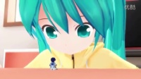 MMD - ChibiMiku and TinyKaito plus Extra