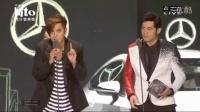 20160605Hito最受欢迎全球华语男歌手周杰伦上台领奖与罗志祥抬杠