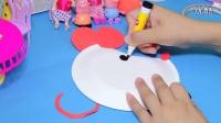 幼儿亲子手工制作---蛋糕盘--米奇老鼠