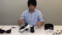 [虎虎VR]PlayStation VR拆解视频 日本工作人员详细拆解PSVR拆机演示