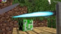 MC动画-Herobrine把刀加热到1000度会怎么样-CrazyFoxMovies