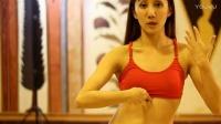 台湾部落融合风格美女老师闻子仪肚皮舞入门教学视频02胸部和玛雅训练