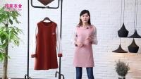 3.24玲家衣舍春季时尚中长款连衣裙30元,3件起批