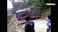 卡车公交汽车行驶最难公路最佳驾驶技术