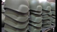 印度军队新型头盔的生产线