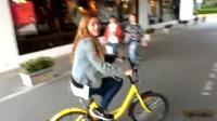 台湾人在上海生活  共享单车 摩拜+小黃车初体验、两人小包廂KTV唱歌超过瘾