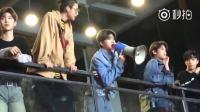 """【蔡徐坤】20180523《快乐大本营》录完下班-暖心坤""""怎么那么傻啊"""""""
