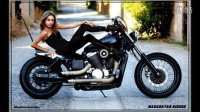 【Sexy】A Young Teen and a Honda Shadow (Slide Show)