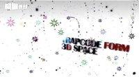 AE黑白粒子空间制作!