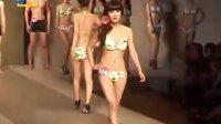 首届海宁中国皮革城网上模特之星大赛模特泳装秀