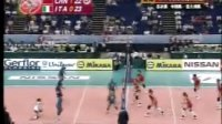 08世界女排大奖赛总决赛 中国VS意大利 第二局