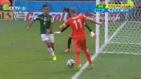 2014巴西世界杯火爆头条 [集锦]荷兰2-1墨西哥 罗本造点绝杀奥乔亚难救主 140630