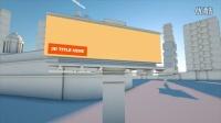 LM592-简洁3D模型建筑媒体动画AE模版