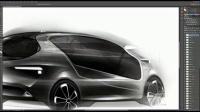 [PS]汽车设计师教你Photoshop汽车手绘上色