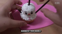 《老外做全球美食》之跟日本人学做雪人杯子蛋糕,好看好玩又好吃