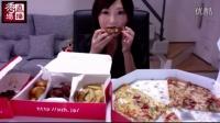 【吃货木下】大号披萨+BBQ鸡肉组合(直播精华版)
