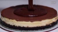 【大吃货爱美食】精致甜点——巧克力花生酱奶酪蛋糕~ 160406