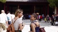 新加坡人逛中国杭州南京
