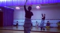 莱丽艺术培训 肚皮舞初级入门教学舞蹈背面视频   纱巾舞