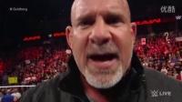 WWE 时隔12年 战神高博 超霸回归  挑战莱斯纳 161018(中文)