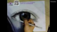 【孔雀美业联盟】-彩妆素描画眼睛2