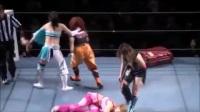 日本女子摔跤-Misaki Ohhata & Hikaru Shida Vs Cherry & Kaori Yoneyama
