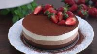 不仅仅是颜值高,无糖巧克力慕斯蛋糕