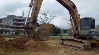 挖掘机工作视频  表演视频