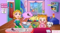可爱宝贝系列游戏 可爱宝贝清洗衣服