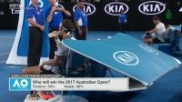 2017澳网男单决赛 费德勒vs纳达尔