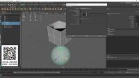 动画018:maya2018包裹变形和收缩包裹变形器详解