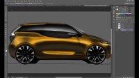 [PS]photoshop 渲染汽车侧视图设计手绘视频教程