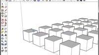 【教学】SketchUP 基础(6)移动-复制-阵列
