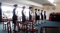 酒店公关礼仪小姐培训CCTV—街拍专家