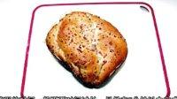 用面包机做面包---洋葱火腿花卷面包