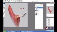 PS基础绘画教学:布纹的画法(CGWANG动漫)