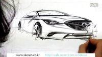 汽车设计快速手绘表现2