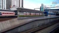 D7099次(广州东—深圳)进罗湖火车站