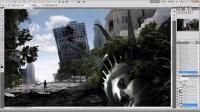 [PS][魔骑座]国外PS教程 photoshop合成 打造 失落城市