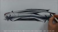 如何绘制汽车侧视图手绘效果图
