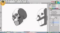【PS教程】名动漫原画头像之-第三弹 头骨结构与比例定位