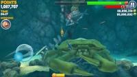 【小光】饥饿鲨进化鲨鱼体验解说-4:大白鲨打赢了大螃蟹 饥饿鲨进化手机版