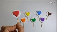 自制七彩夹心棉花糖、超轻粘土,水晶粘土教程、儿童食玩、亲子游戏,幼儿颜色手工启蒙【小葩手绘】