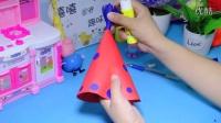 幼儿亲子手工制作---卡纸-帽子!